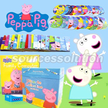 Original Peppa Pig Picture Story DVD Series★Early Education Enrichment English