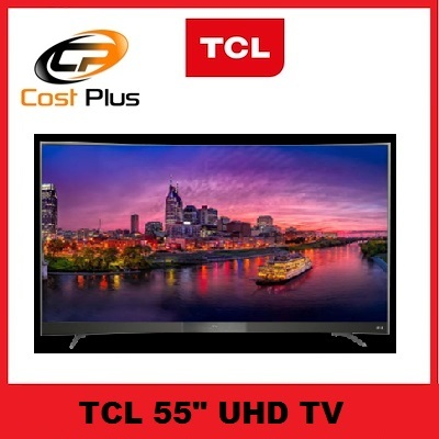 TCLTCL 55P3CUS 55″ UHD CURVED SMART DVBT2 LED TV * 3 YEARS LOCAL WARRANTY