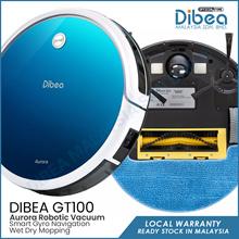 DIBEA GT100 Aurora Robotic Vacuum Cleaner Gyroscope [OFFICIAL STORE]