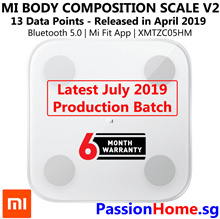 💪 Xiaomi Mi Body Composition Scale v2 💪 Body Fat - 13 Data Points - July 2019 Latest Version