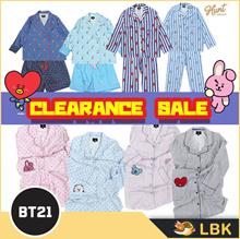 Clearance SALE【BT21 x Hunt】 3Types BT21 Official PAJAMAS / BTS Sleepwear / BTS GOODS