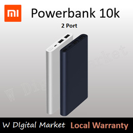 AUTHENTIC Xiaomi Mi PowerBank 10400mAh Lowest in Singapore!!! Last 1500 sets Available