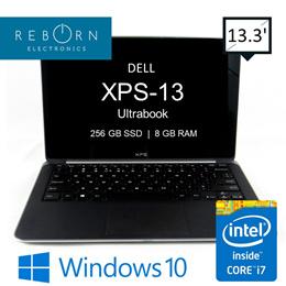 Refurbished Dell XPS-13 Ultrabook/ Intel I7 3rd Gen/ 8GB/ 256GB SSD/ Wins10 Pro/ 30 days warranty