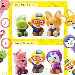 Pororo Friends Set Birthday Cake Toppers*Squirt Water Bath Toy*Decoration
