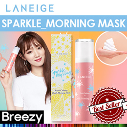 BREEZY ★ [Laneige] 2018 NEW ★ Fresh Calming Quick Morning Mask (Sparkle My Way Limited)