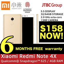 [6 MTHS WARRANTY!] REDMI NOTE 4X 16GB / 32GB / 64GB SNAPDRAGON! GLOBAL ROM / DUAL SIM XIAOMI