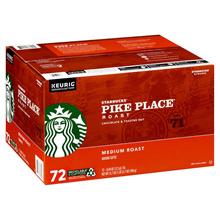 Starbucks Pike Place Medium Roast K-Cup 72-count