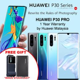Huawei P30 Pro - Free Gift (Original Snorkeling Case + Pineng 10000mAh Power Bank ) Huawei Malaysia Warranty