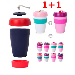 ★1+1★Tumbler/Fashion Cup/Drinking/Couples/GiftInsulating Cup/Insulated Cup/Barista/Eco/Health/Fitness/340ml/Coffee