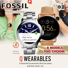 FOSSIL Q TOUCHSCREEN Smart Watch Collection.Activity Tracking / Touch Screen Functionality