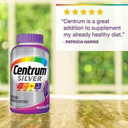 Centrum Silver Women Multivitamin Multimineral Vitamin D3 Age 50+ 200