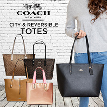 COACH  CITY TOTE AND REVERSIBLE TOTE -READY STOCK IN SG- SALE-100% AUTHENTIC