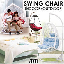 Swing Chair / Indoor Outdoor / Luxury Outdoor Furniture / Rattan Material ★Cushions