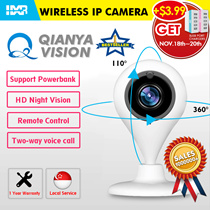 ☆BEST SELLER*Authentic QIANYA HD-FHD Wireless IP CCTV Camera*2-way Audio* Night Vision*1 Yr Warranty