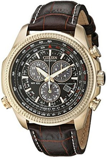 Citizen Men s BL5403-03X Eco-Drive Watch with Leather Band