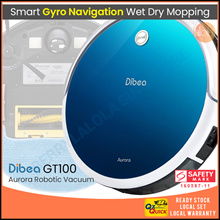 Dibea GT100 Smart Robot Vacuum Cleaner