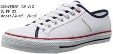 (CONVERSE) CONVERSE CV VLC SL PP OX Men's Ladies' Sneakers Ideal for School Vulcanization