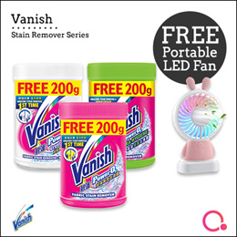 [RB]【Bundle of 3 Vanish】Laundry Stain Remover Series | Stocks from Singapore