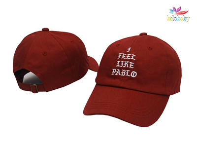 Belababy Dad Hats Brand Baseball Cap Trending Rare Hat I Feel Like Pablo Hat  Cap Kanye 34bb94fa2