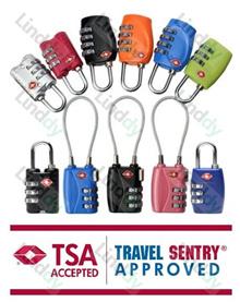 ★HOLIDAY SALES★ Authentic TSA travel luggage lock / numeric lock / baggage strap / luggage tag / bag
