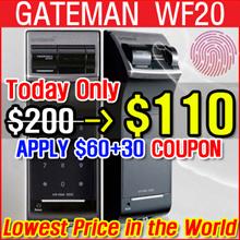 [Gateman] F10 (WF20) / Digital door lock / Installation Service / Finger print / 100% authentic