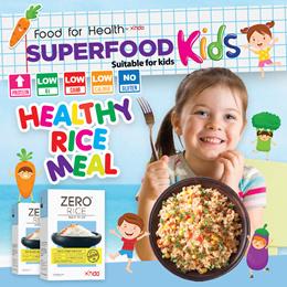 [HEALTHY KIDS] [15 Meals] Zero Rice