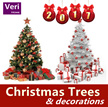 【One-stop shop for Christmas decorations 】Christmas trees/ornaments/LED lights