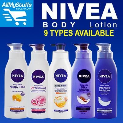qoo10 nivea body lotion milk 400ml 11 types available. Black Bedroom Furniture Sets. Home Design Ideas