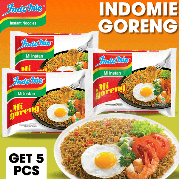 INDOMIE MIE INSTAN Deals for only Rp22.500 instead of Rp22.500