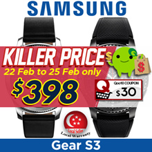 Samsung Gear S3 Frontier (SM-R760/R765) Smart Watch / Telco Set with Samsung Warranty