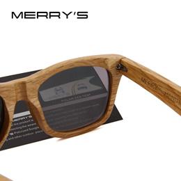 store MERRYS DESIGN Men/Women Wooden Sunglasses Retro Polarized Sun Glasses HAND MADE 100% UV Protec