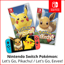 [PREORDER] Nintendo Switch Pokemon: Lets go Pikachu // Pokemon: Lets Go Eevee
