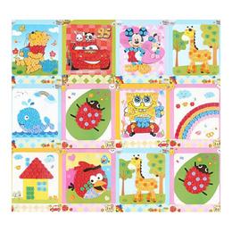 Children Kids Art craft/ Kids Button Art / Children Goodie Bags /Eva 3D Foam Art/Creative Education