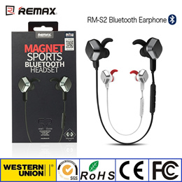 [REMAX]Remax RB-S2 Magnet Bluetooth headphones   Sport for Runner   Bluetooth 4.1   HD Voice
