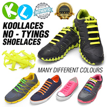 No Tie Silicone Shoelace / Koollaces / Sneakers / Dress shoes /  SG Quick Delivery / Promotion