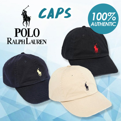 Polo By Ralph LaurenAUTHENTIC POLO RALPH LAUREN BASEBALL CAP HAT LUXURY  FREE SHIPPING PREMIUM SALE BEIGE BLACK BLUE