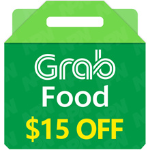 GrabFood $15 Promo Code 🍴 [Click Link In Email to Redeem*Fast  Instant*No need to enter Promo Code]