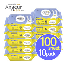 [Launching Event]★Anjeur light★ wet wipes 100sheet 10pack/baby/kids/kitchen/total care/wet tissue
