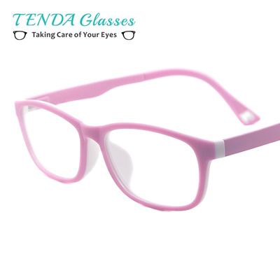 6e376bdaa0f3 Boy Girl Eyeglasses Ultem Lightweight Flexible Eyewear Frame Children Prescription  Glasses