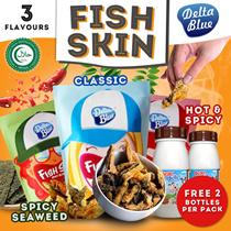 ★ Crispy Fish Skin Snacks at $3.80 (U.P $5.90) ★ Halal ★