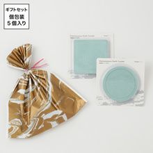 Francfranc petit gift <two diatomaceous earth coasters x5 set> [WEB-limited]