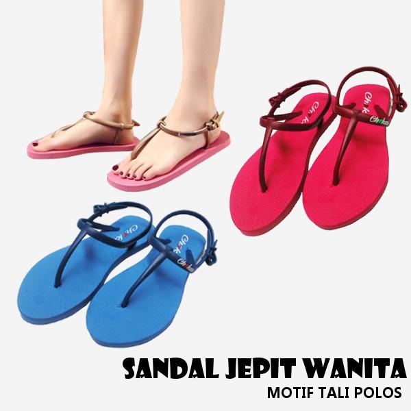 CSTLI Sendal Jepit Wanita motif tali polos Deals for only Rp29.000 instead of Rp37.662