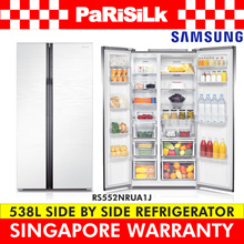 SAMSUNG RS552NRUA1J SIDE BY SIDE FRIDGE w/ Twin Cooling 538 L - SINGAPORE WARRANTY
