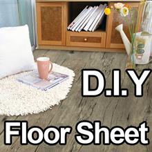 Floor reform Sheet-Self Adhesive Wallpaper home decoration living DIY  furniture sofa kitchen mat