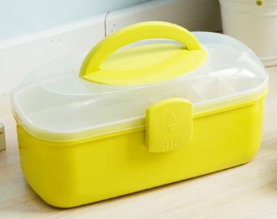Multi-layered Family Medicine PP Medical Box Medical First Aid Storage Box  Storage Medical Sundries