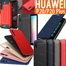 HUAWEI 2018 P20 P20 Pro Lite Case Wallet PU cover Tempered Glass for Huawei P10 P20 Plus Casing