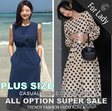 13rd Oct Update ♥Korean Style♥ Linen / Casual / LOOSE Fit / Dress / Plus Size
