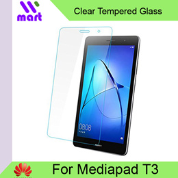 Clear Tempered Glass Screen Protector for Huawei MediaPad T3