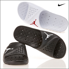 Kconcept◆Free Shipping◆AUTHENTIC 100%◆ NIKE JORDAN SUPER.FLY TEAM SLIDE (2Colors) 716985-102 716985-