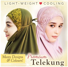 New Arrival* SITI KHADIJAH TELEKUNG *AUTHENTIC* *Nice Colors*Hijab
